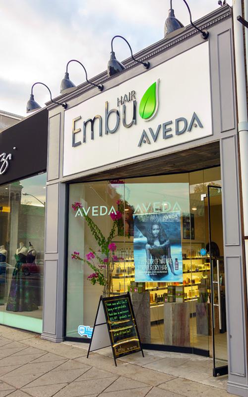 Embu Hair salon front